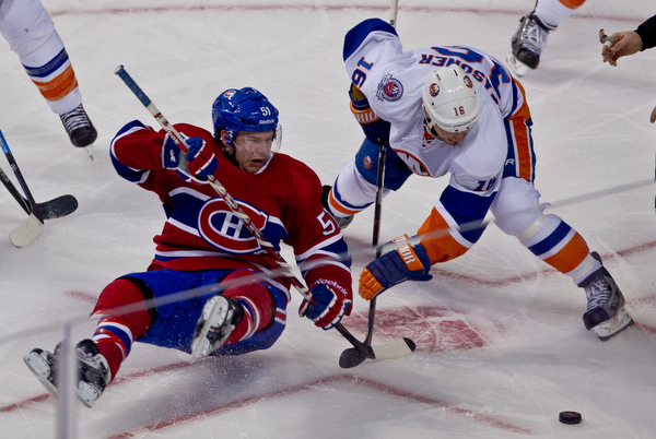 Montreal Canadiens vs New York Islanders